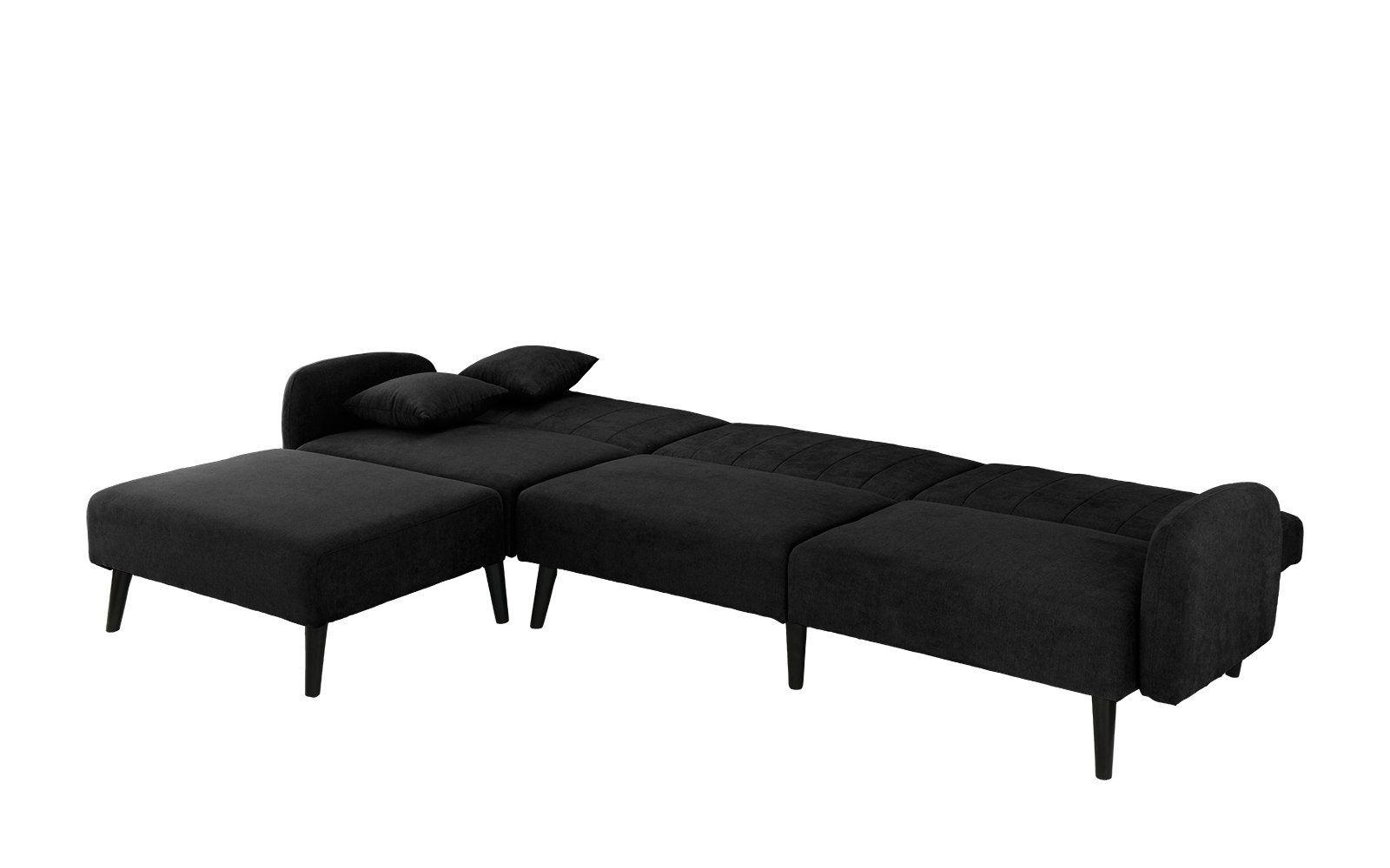 Terrific Mid Century Modern Style Linen Fabric Sleeper Futon Sofa Forskolin Free Trial Chair Design Images Forskolin Free Trialorg
