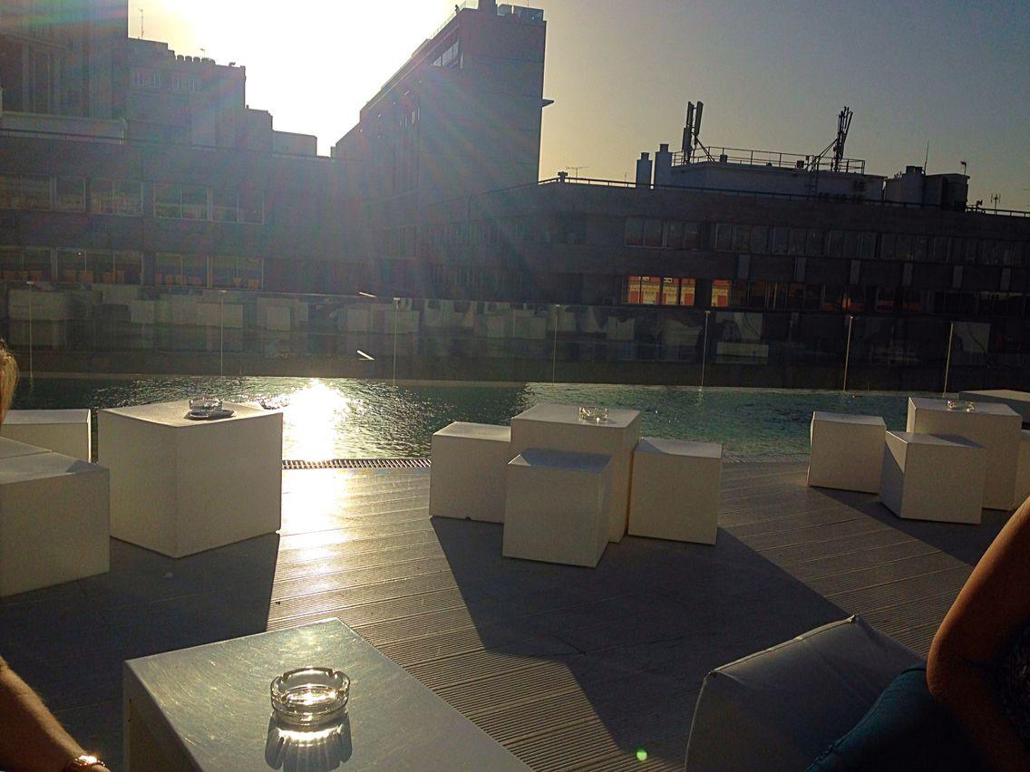 A hidden rooftop bar in Madrid