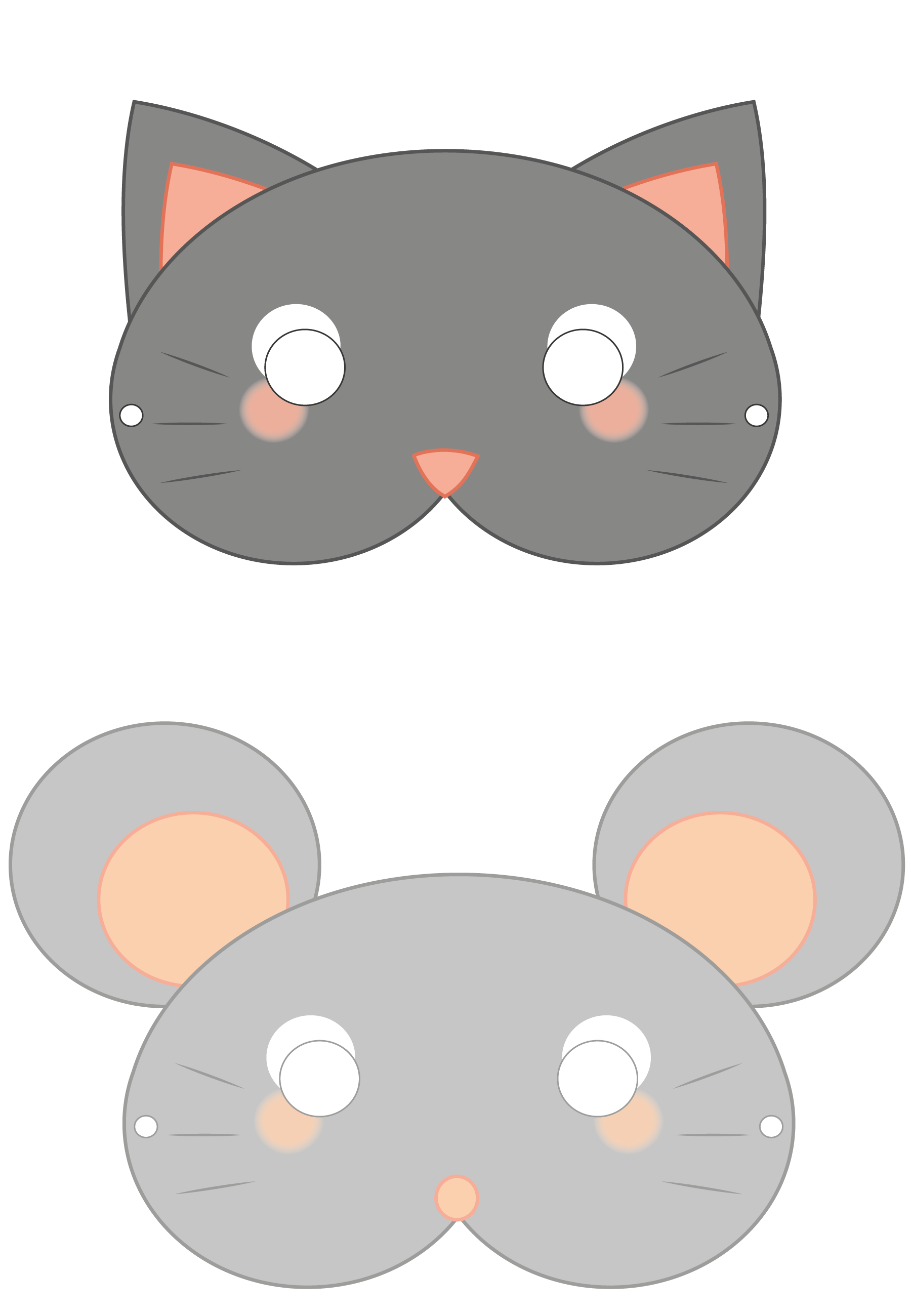 Vac le vide atelier des cr atives printable du lundi - Masque chauve souris a imprimer ...