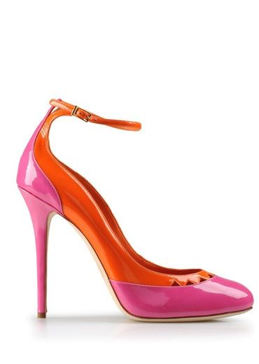 Pink and orange pump  4c8cf1b7d6