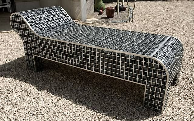 gabion as furniture