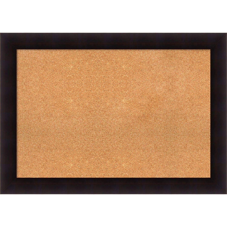 Amanti art framed cork board portico espresso extra large 42 x amanti art framed cork board portico espresso extra large 42 x 30 inch brown jeuxipadfo Image collections