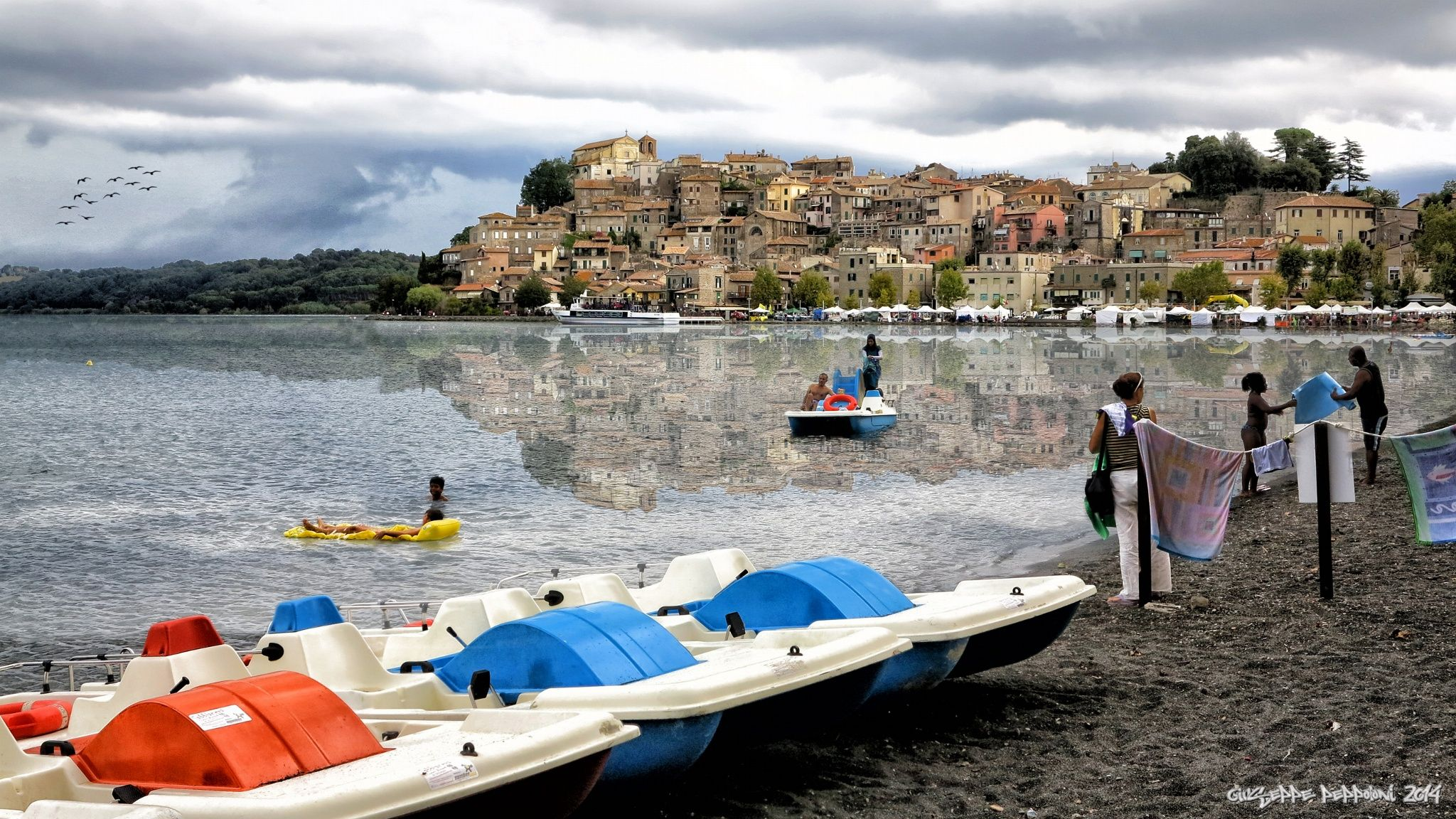 Anguillara Sabazia (Roma) by Giuseppe Peppoloni on 500px