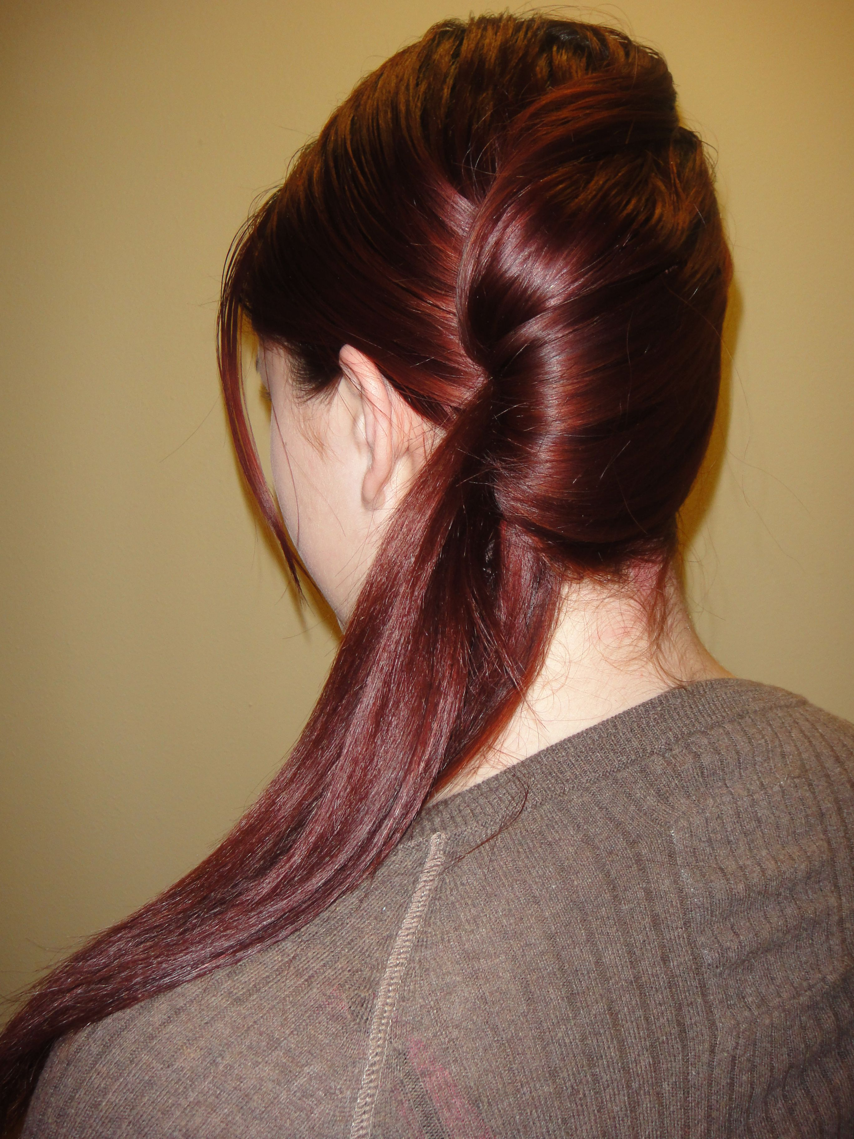 twisted side ponytail #hairstyles #hairstyle #hair #long