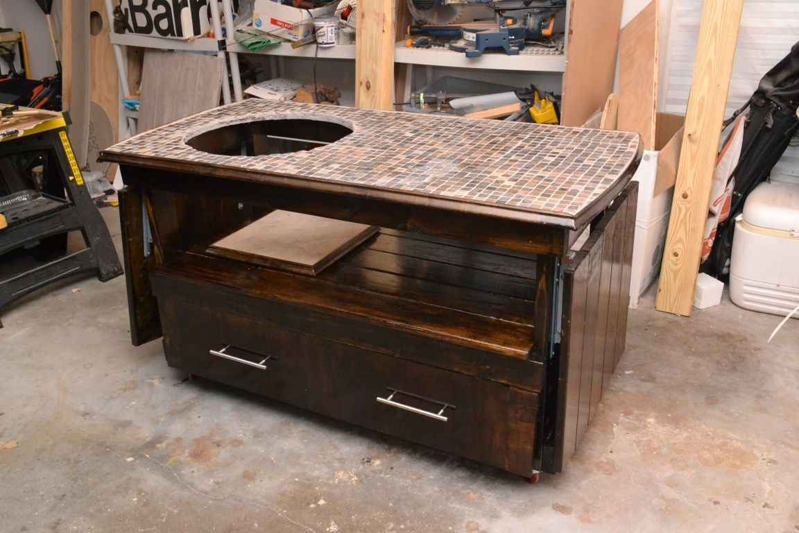 Woodworking Big Green Egg Large Table PDF Download Big Green Egg Large Table  Andrew Smith Just