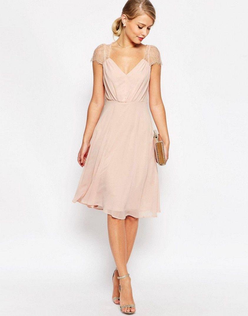 15 Festkleider Midi in 15  Kleid hochzeit gast, Kleider