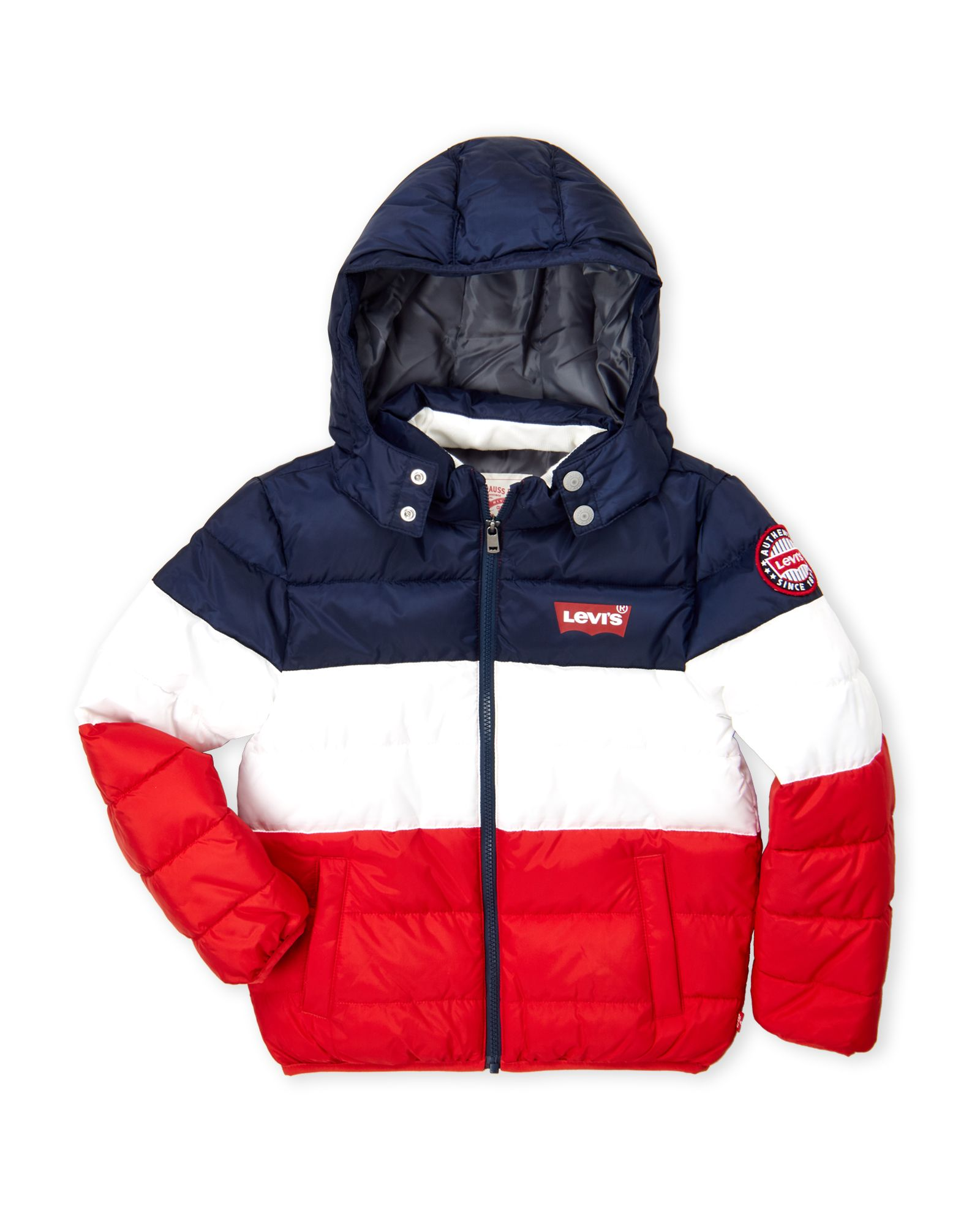 Levi S Boys 8 20 Color Block Puffer Jacket Cool Baby Clothes Kids Winter Fashion Jackets [ 2000 x 1600 Pixel ]