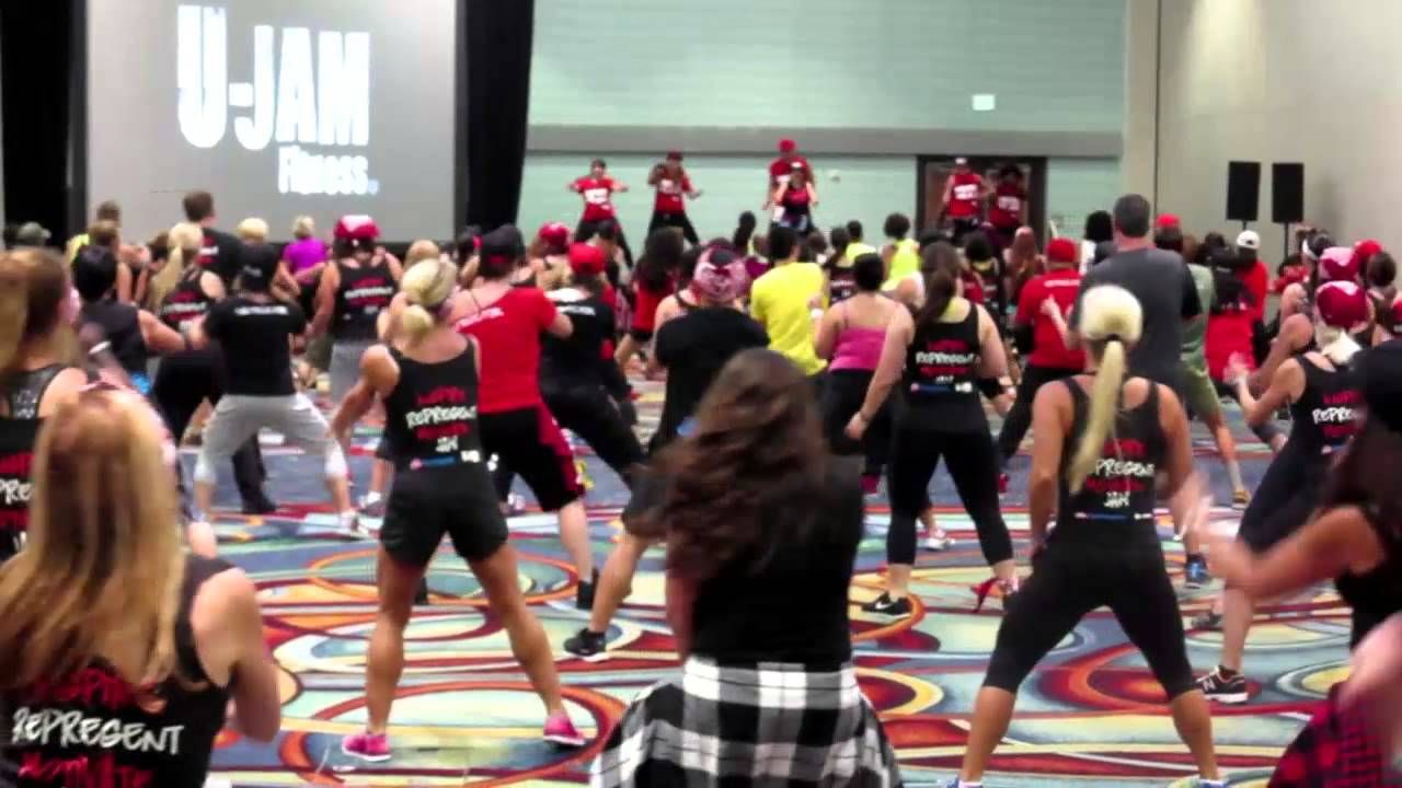 U Jam Fitness At Idea World 2014 Aug 14 16 In Anaheim Ca Fitness Workout Ted Talks