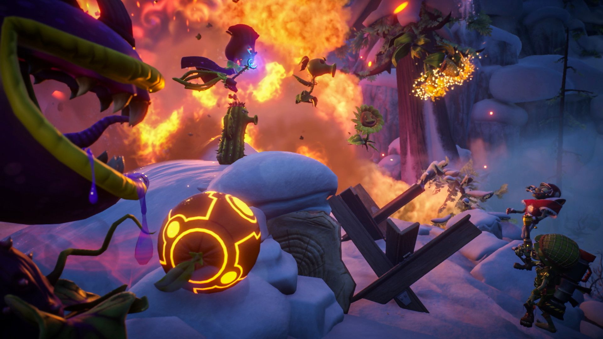 Check Out The Gameplay Trailer For Plants Vs Zombies Garden