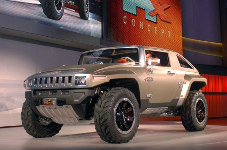 Hummer Hx Concept Price Specifications Release Date Carmodel