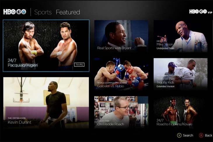 New HBO GO app live for Xbox One Hbo go app, Hbo go, Xbox