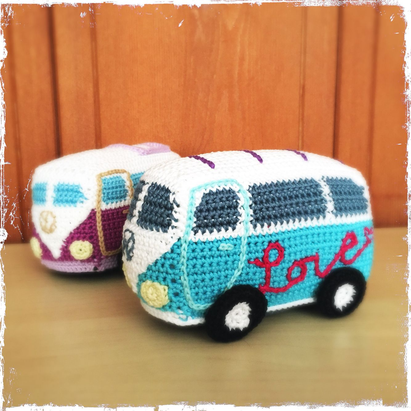 Crochet VW camper vans. (Inspiration). | Crochet Dolls | Pinterest ...