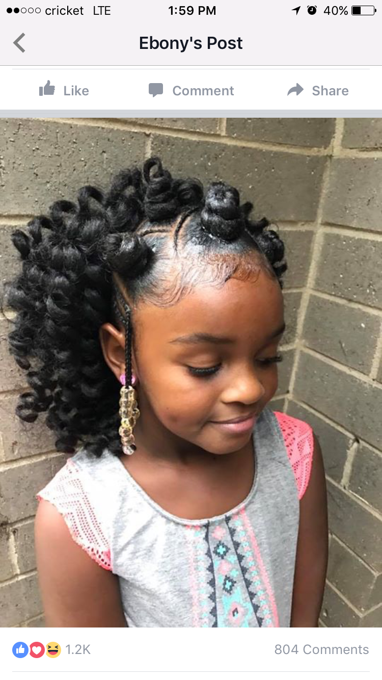 pin by tanya ingram on kids hair | girl hairstyles, crochet
