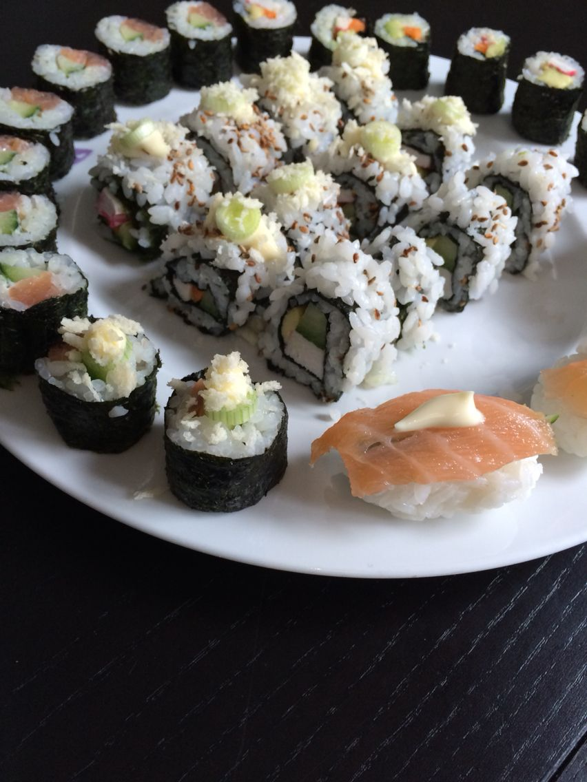 Sushi uit eigen keuken #MadebyOian 22mei2015