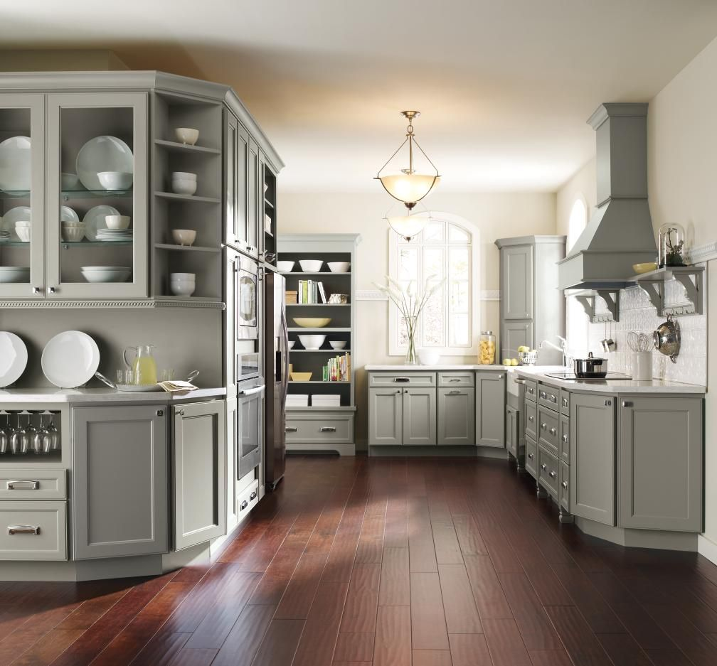 Charmant ... Vice President Of Product Design And Trend At MasterBrand Says Gray Is  A Great Backdrop To Show Your Personality In Home Design! This Homecrest  Kitchen ...