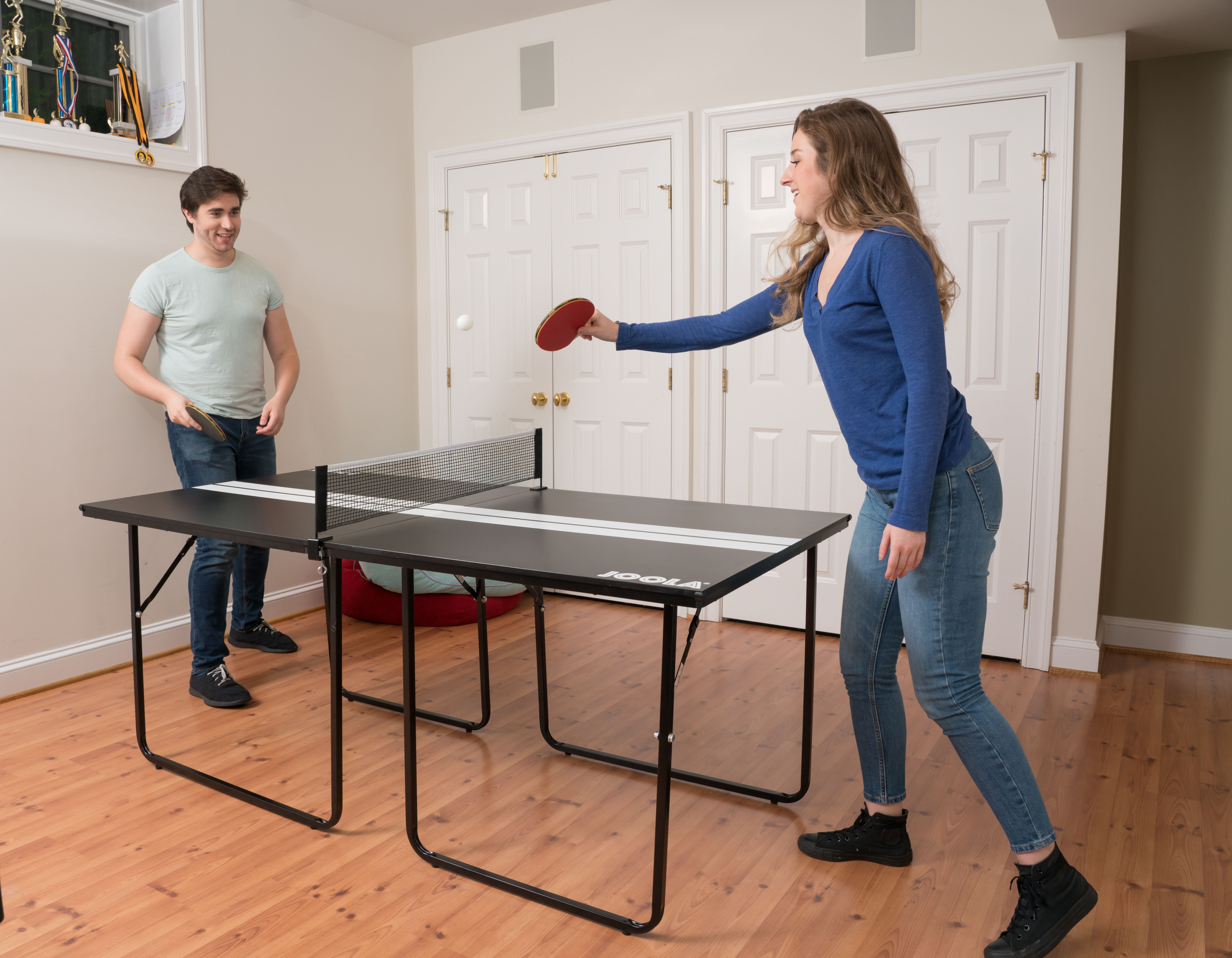 Midsize Sport Table Tennis Table Table Tennis Table Small Spaces