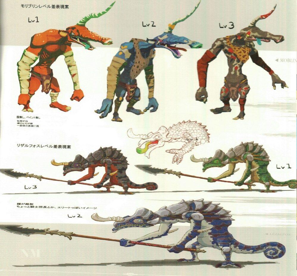 37+ Zelda creatures information