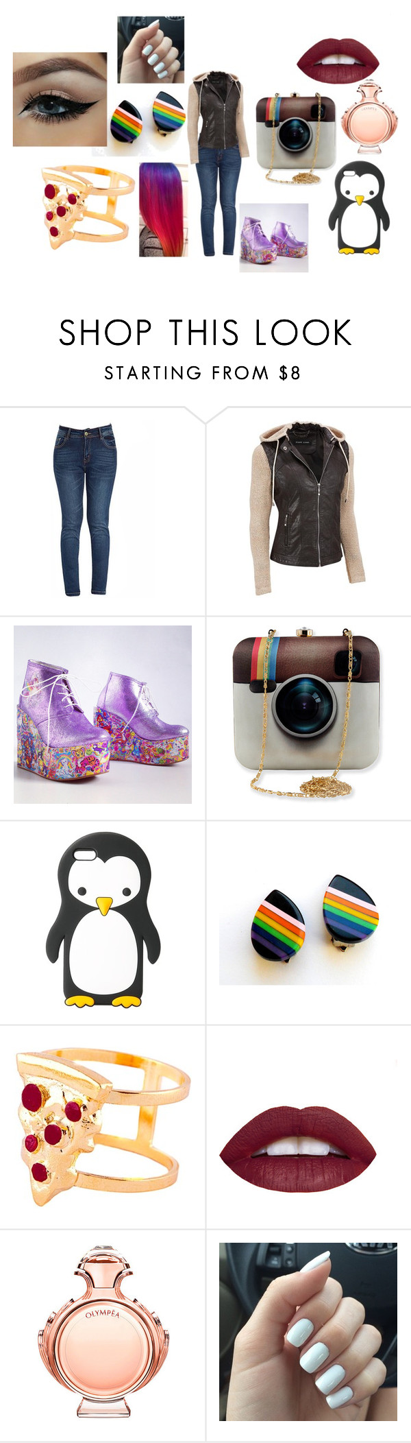"""Social Media"" by alliephil ❤ liked on Polyvore featuring moda, MANGO, Glenda López y Paco Rabanne"
