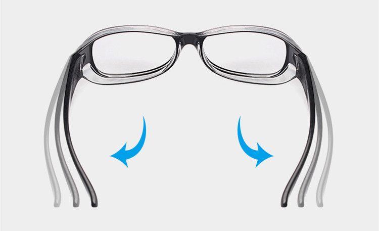 花粉用サングラス花粉メガネ防風防塵効果花粉症対策メガネカバー防虫電磁波防護眼鏡