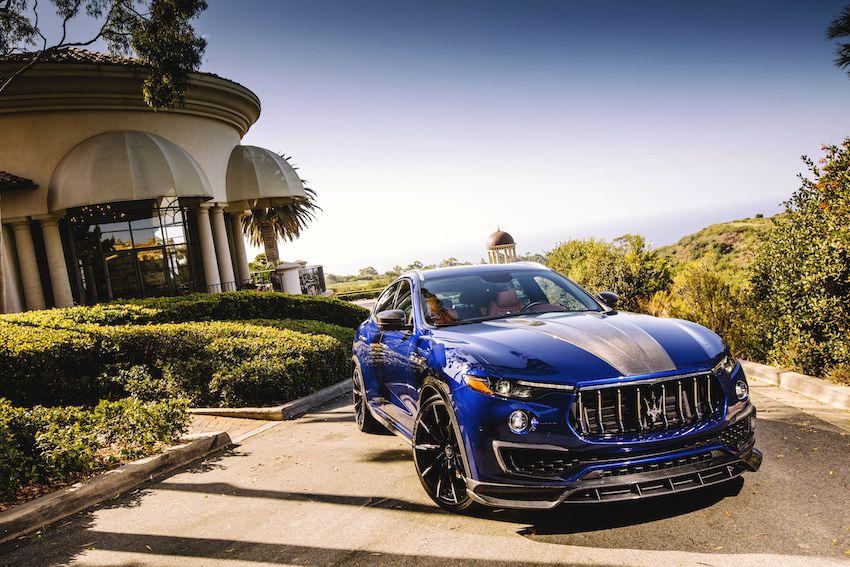Maserati Levante Shtorm In Pelican Hills Usa