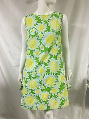 f20e914ca4bcc6 Vintage-60s-The-Lilly-Lilly-Pulitzer-Cotton-Shift-Dress-Flower-Print-Size-M