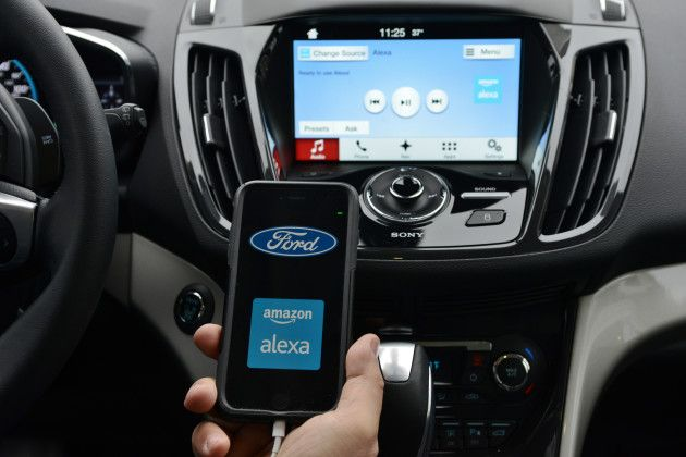 Ford Meets Amazon Automaker To Integrate Echo And Alexa With Sync Linking Cars To Homes Ford Sync Iphone Features Smart Car