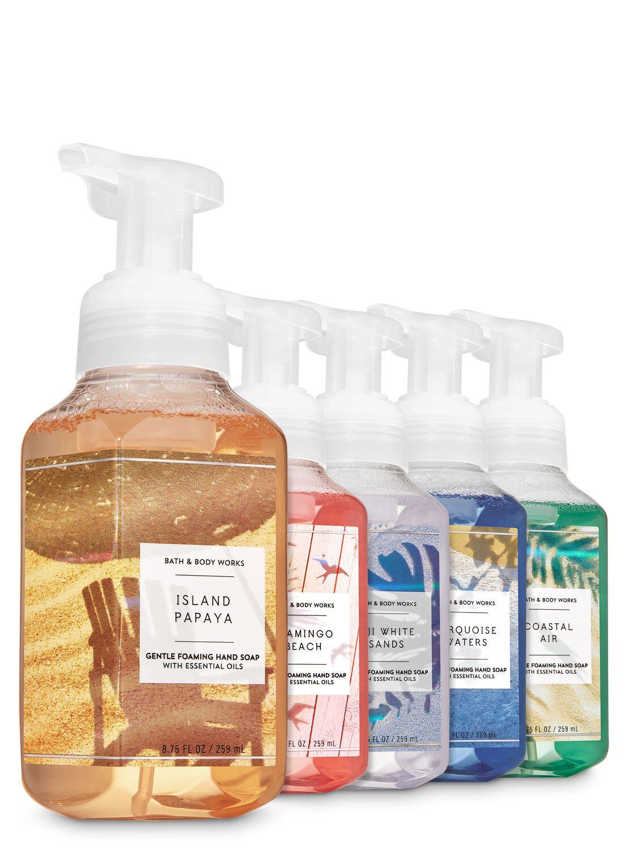 Bath Body Works Seascape Gentle Foaming Hand Soap 5 Pack In
