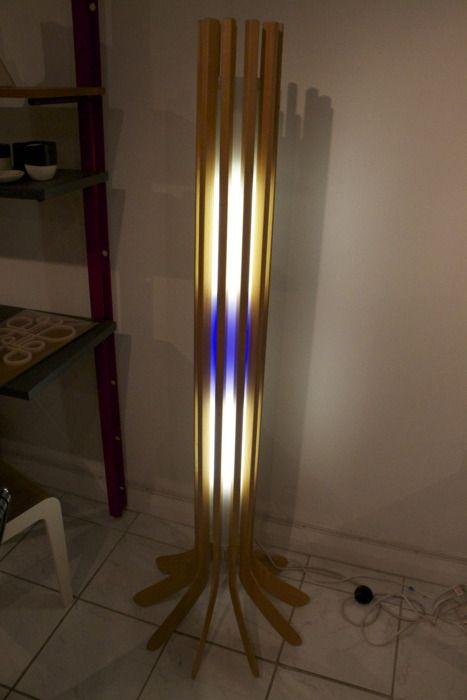Hockey Stick Lamp Shinny Floor Lamp By Barr Gilmore