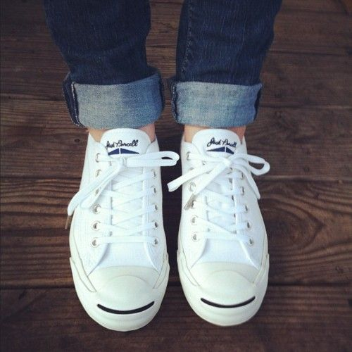 my favorite summer shoe: jack purcell converse <3