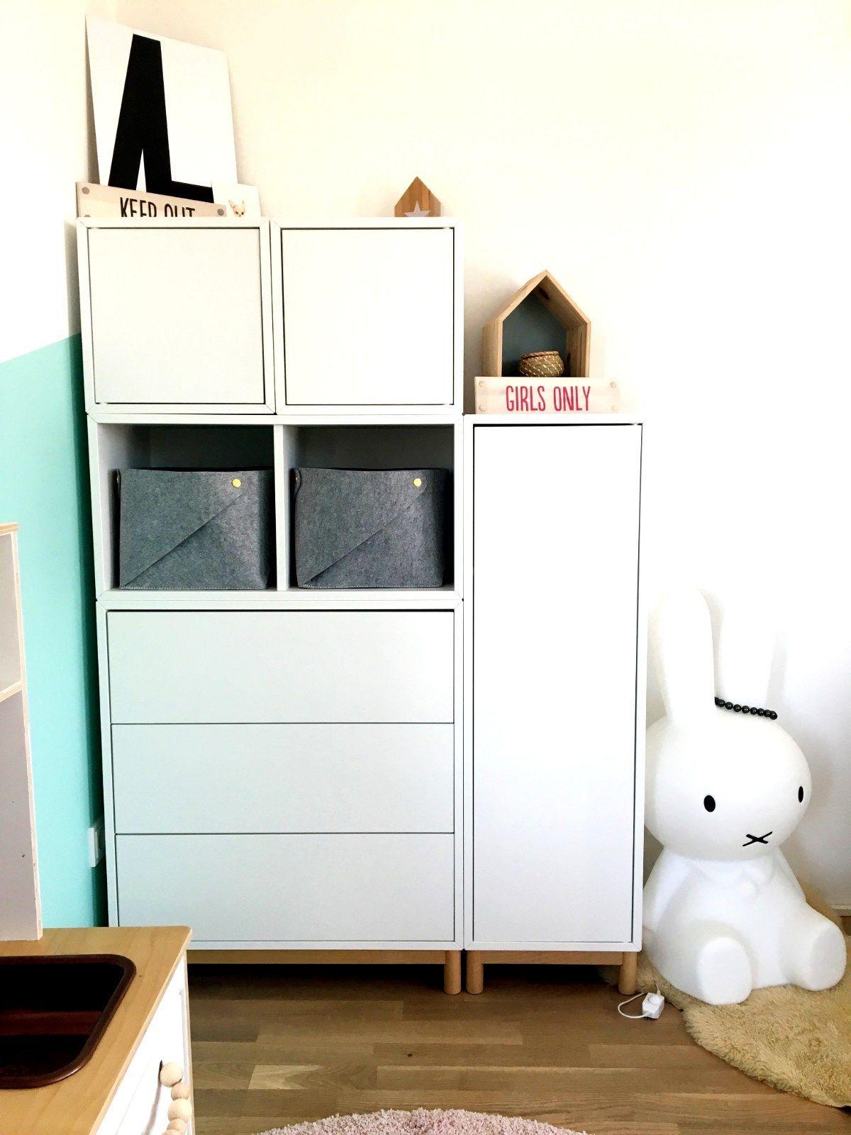 Kleinesbisschen Kleiderschrank Kind Ikea Eket Ikea Kinderzimmer