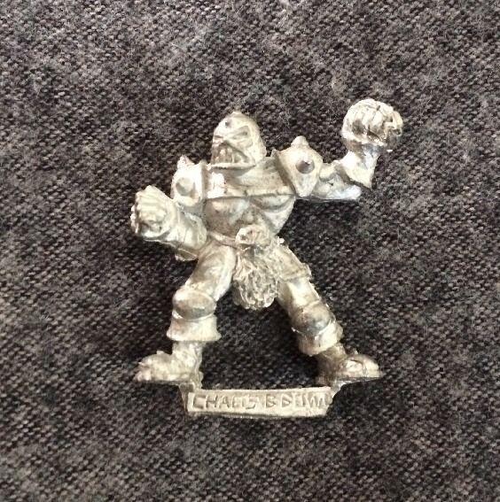 Blood Bowl Chaos Player Metal Oop Games Workshop Citadel Miniatures #GamesWorkshop