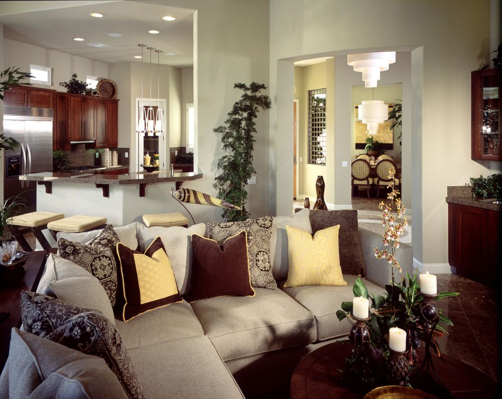 45 contemporary living rooms with sectional sofas - Elegant formal living room furniture ...
