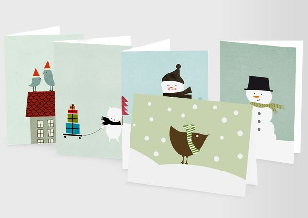 Perfect MOO Greeting Cards. Flat Postcards Can Be Customized On Both Sides And Are  Around $1