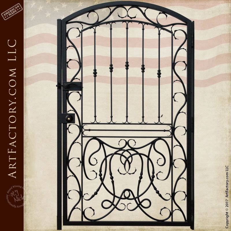 Garden Iron Gate - Harvard University Gate Designs - 1341IGA ...