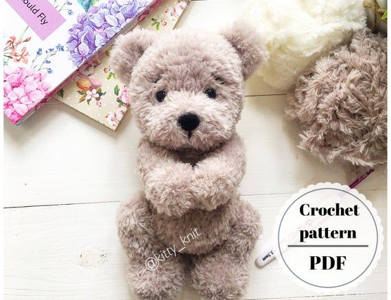 Crochet pattern Bear, Plush bear tutorial, Amigurumi animal crochet pattern, Amigurumi bear, Amigurumi patterns bear,How to crochet bear #crochetbear