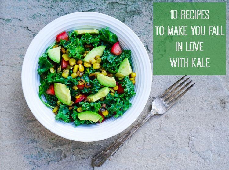 Ten tasty recipes using kale
