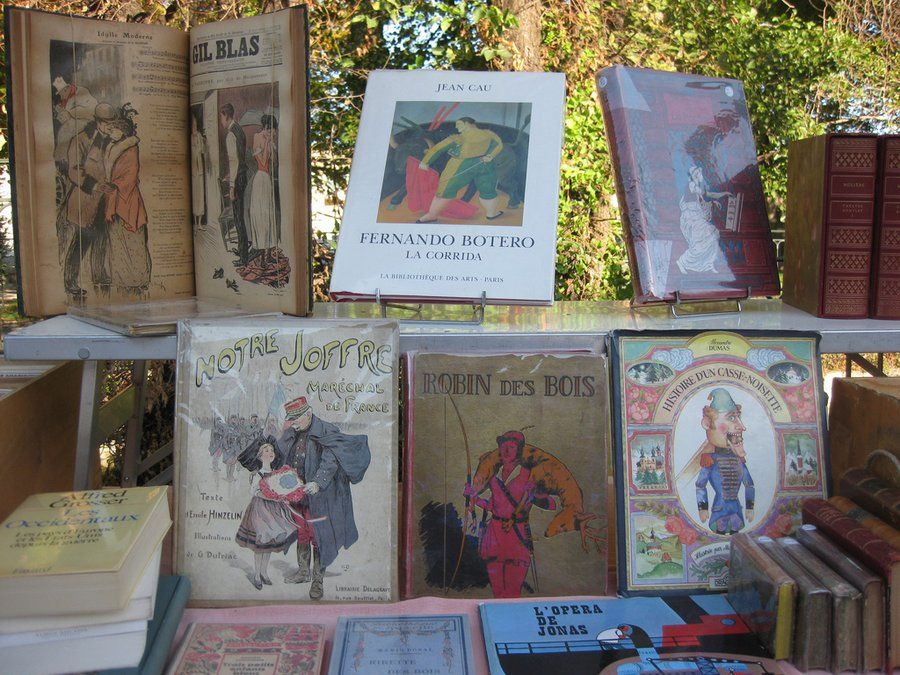 europeanbrocante flea market | ... Brocante Market old books - Flea Market InsidersFlea Market Insiders