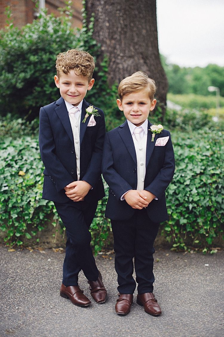 a29808d7402 ring-bearers mini groomsmen outfits Mens Wedding Suits Navy
