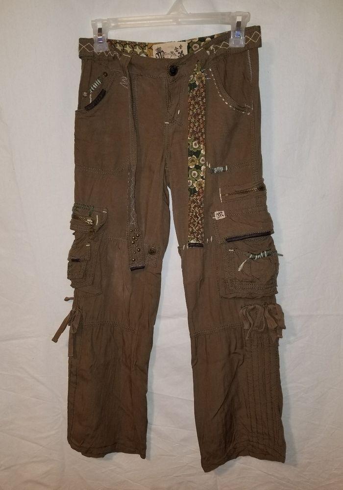 80b637ab Miss Me Cargo Pants Girls Size 10 Brown #MissMe #CargoCombat #Everyday