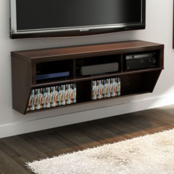 Kohl\'s 58-in. Wall-Mounted Entertainment Center | Wall mount ...