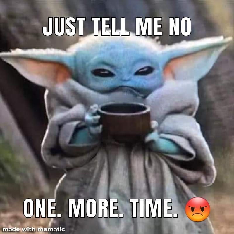 Pin By Aly On Geek Pics For The Geek In Us All Yoda Funny Yoda Meme Star Wars Humor