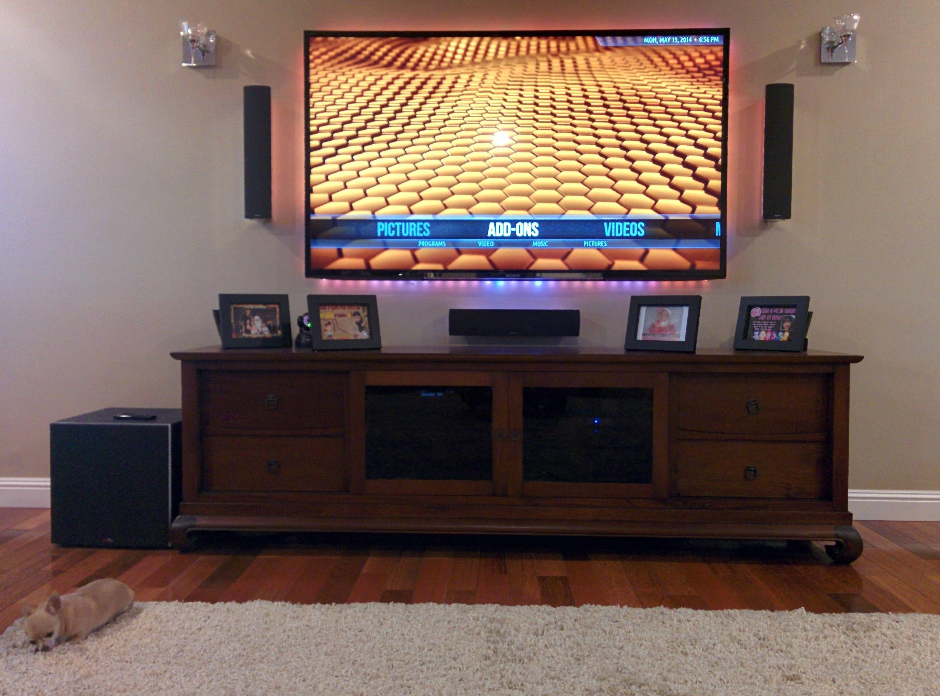 Nice Tv Setup By Reddit User Noxqcs808 Interface Audio Video