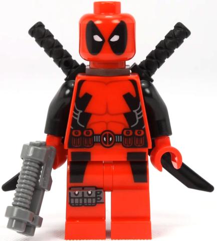 Deadpool lego figurine compatible avec dogpool Wilson-Marvel Comics