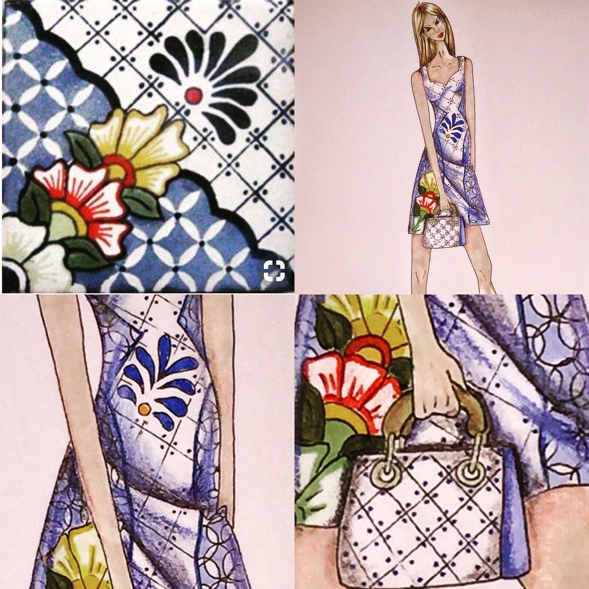 Inspiraci N Talavera De La Reina Dise O Y Creaci N De Moda  # Muebles Talavera Dela Reina