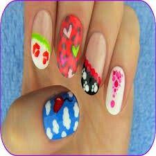 Sara Beauty Corner Toothpick Nail Art Toothpick Nail Art Cute Nail Art Designs Simple Nail