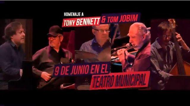 """XIX CICLO DE JAZZ EN BAHIA BLANCA  """"HOMENAJE A TONY BENNETT Y TOM JOBIM""""   El día viernes 9 de junio a las 21:30, tendrá lugar en el Teatr..."""