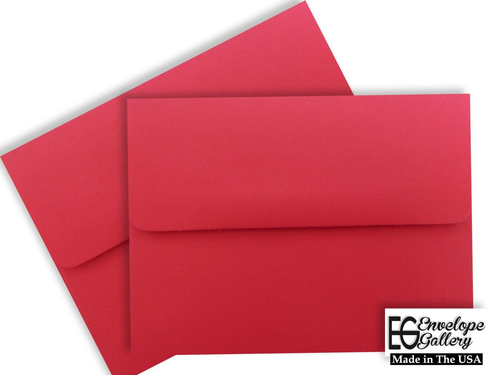 Holiday Red A1 Envelopes 100 Boxed for 3 3/8 X 4 7/8 Response Cards ...