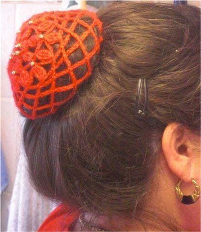 Haarnetz für den Dutt - Galerie -   Eigene Handarbeiten   Pinterest ...