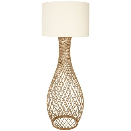 Twine Wicker Floor Lamp 157cm Was 399 Now 279