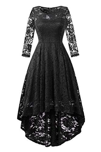 5d3891bdc9 ... Womens Lace Cocktail Dress Elegant Floral Sleeveless Swing High Low  Formal Prom Dress womens dresses.   26.99 - 40.99  topoffergoods.ga from  top store